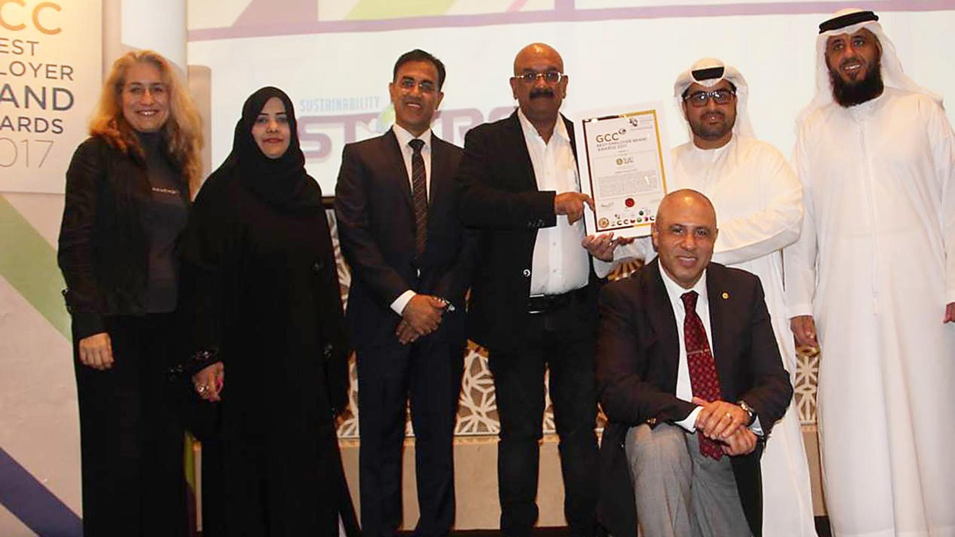 """Agthia Awarded the """"GCC Best Employer Award"""" for 2017"""